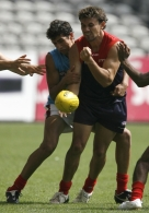 Melbourne FC Intra-Club Practice Match 200207