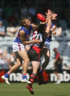 AFL NAB Challenge - Essendon v Western Bulldogs