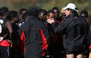 AFL Media - Tiwi Bombers Training 250507 (LC)