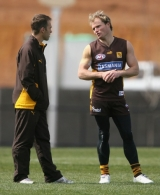 AFL Media - Hawthorn Training 070907