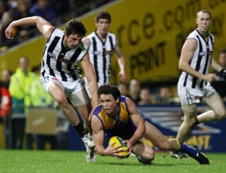 AFL Second Semi-Final – West Coast Eagles v Collingwood