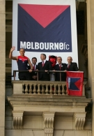 AFL Media - Melbourne FC identity and guernsey launch  161107