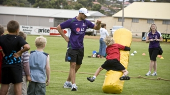 AFL 2008 Media – Fremantle Community Camp 300108