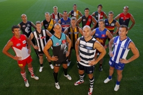AFL 2008 Media - AFL Captains Shoot 130308