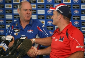 AFL 2008 Media - Dean Bailey and Rodney Eade Media Conference 270308