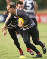 AFL 2008 Media - Essendon Training 150408