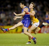 AFL 2008 Rd 06 - Western Bulldogs v West Coast