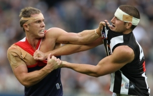 AFL 2008 Rd 11 - Melbourne v Collingwood