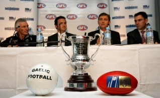 AFL 2008 Media - International Rules Press Conference 300608
