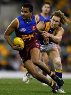 AFL 2008 Rd 16 - Brisbane Lions v West Coast