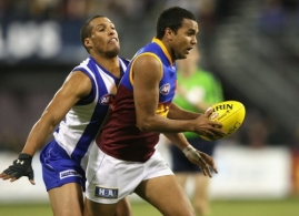 AFL 2008 Rd 18 - North Melbourne v Brisbane Lions