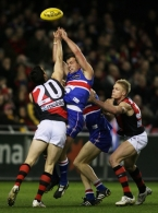 AFL 2008 Rd 21 - Western Bulldogs v Essendon