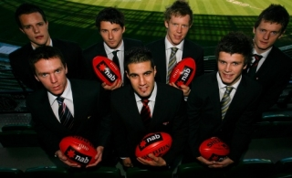 AFL 2008 Media - 'The Draft' Book Launch 020908