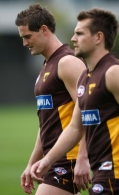 AFL 2008 Media - Hawthorn Training 190908