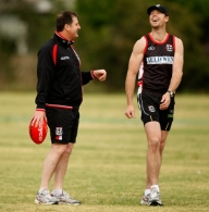 AFL 2008 Media - St Kilda Training 171108