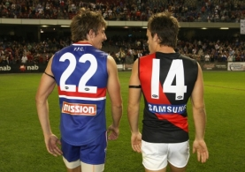 AFL 2009 NAB Cup Wk1- Western Bulldogs v Essendon