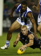 AFL 2009 NAB Cup RD 01 - Carlton v North Melbourne
