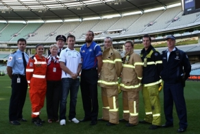 AFL 2009 Media - Emergency Services Relief Press Conference