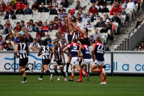 AFL 2009 Rd 02 - Collingwood v Melbourne