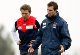 AFL 2009 Media - Melbourne Training 070509