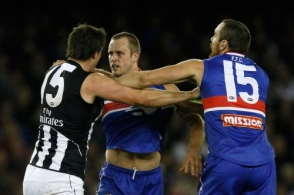 AFL 2009 Rd 15 - Western Bulldogs v Collingwood