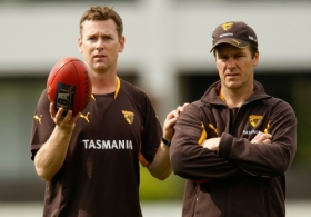 AFL 2009 Training - Hawthorn Training