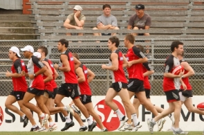 AFL 2009 Training - Essendon Training Session