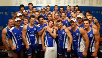 AFL 2009 Training - North Melbourne Final Session Using Old Arden St Facility