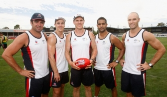 AFL 2010 Media - AIS-AFL Academy Media Conference