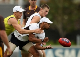 AFL 2010 Training - Hawthorn 130110