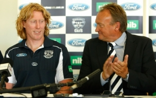AFL 2010 Media - Geelong Captaincy Announcement