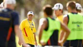 AFL 2010 Training - Adelaide 210110