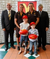 AFL 2010 Media - Hawthorn Community Camp