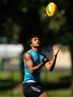 AFL 2010 Training - Collingwood 250210