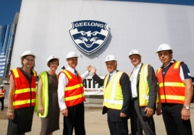 AFL 2010 Media - Skilled Stadium Redevelopment Tour