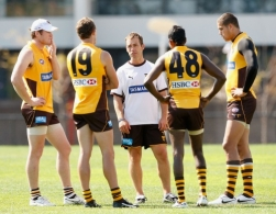 AFL 2010 Training - Hawthorn 040410