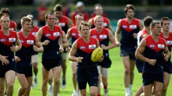 AFL 2010 Training - Melbourne 230410