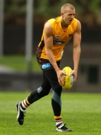 AFL 2010 Training - Hawthorn 300410