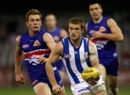 AFL 2010 Rd 18 - Western Bulldogs v North Melbourne