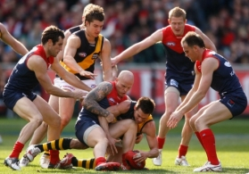 AFL 2010 Rd 19 - Melbourne v Richmond