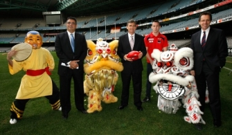 AFL 2010 Media - International Broadcast Announcement