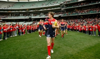 AFL 2010 Rd 22 - Melbourne v North Melbourne