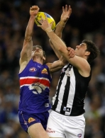 AFL 2010 1st Qualifying Final - Collingwood v Western Bulldogs