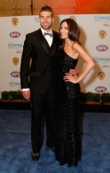 AFL 2010 Media - Brownlow Medal Blue Carpet