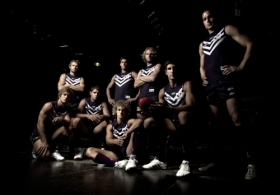 AFL 2011 Media - Fremantle Player Portraits