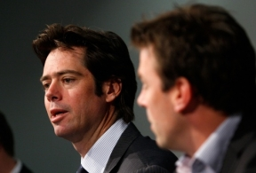 AFL 2011 Media - AFL and AFLPA Media Conference