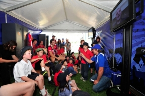 AFL 2011 Media - Melbourne Community Camp 140211