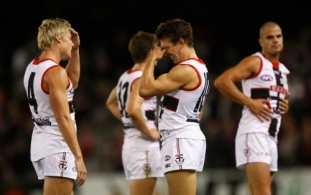AFL 2011 NAB Cup Semi Final - Essendon v St Kilda