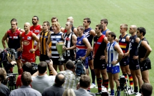 AFL 2011 Media - Captains Photo Day 170311