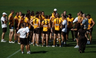 AFL 2011 Training - Hawthorn 080411